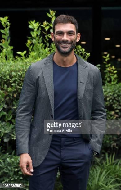 Francesco Arca attends 'La Vita Promessa' photocall at Rai Viale Mazzini on September 13 2018 in Rome Italy