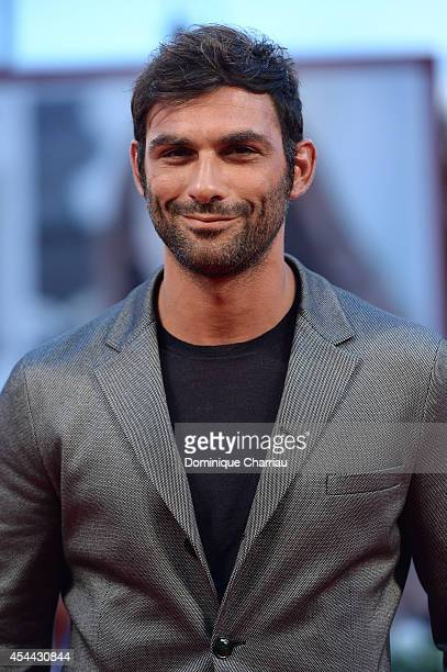 Francesco Arca attends the 'Hungry Hearts' premiere during the 71st Venice Film Festival on August 31 2014 in Venice Italy