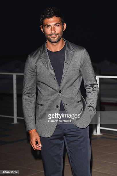 Francesco Arca attends the Kineo Award during the 71st Venice Film Festival on August 31 2014 in Venice Italy