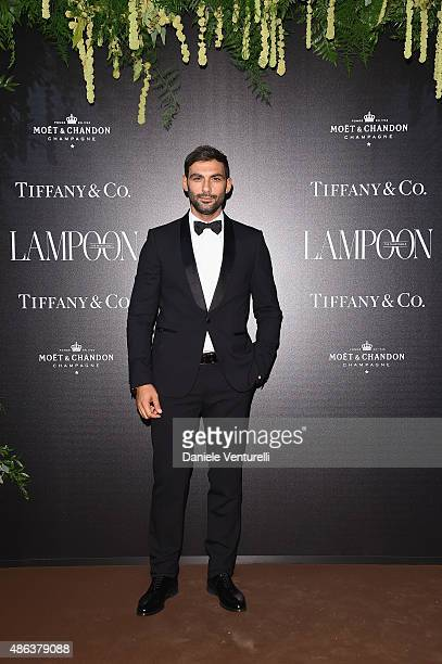 Francesco Arca attends the Lampoon Gala during the 72nd Venice Film Festival at Palazzo Pisani Moretta on September 3 2015 in Venice Italy