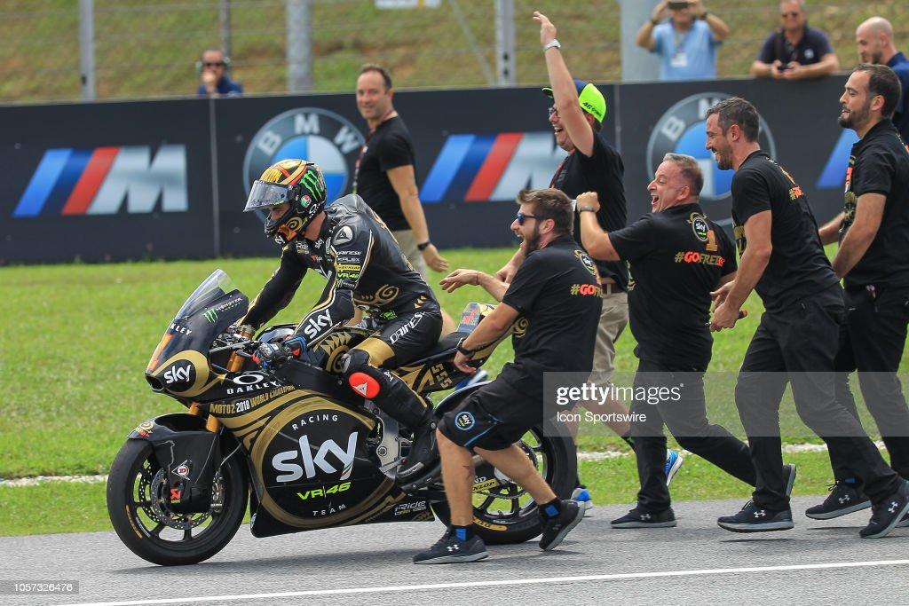 AUTO: NOV 04 MotoGP - Malaysia Motorcycle Grand Prix : Fotografía de noticias