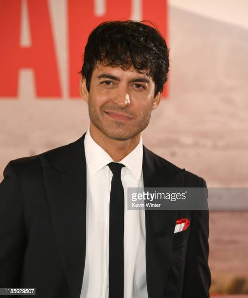 Francesco Bauco arrives at the premiere of Fox's Ford V Ferrari at the TCL Chinese Theatre on November 04 2019 in Hollywood California