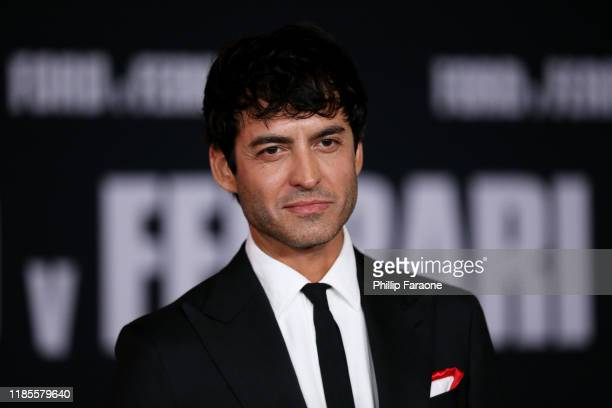 Francesco Bauco attends the premiere of FOX's Ford V Ferrari at TCL Chinese Theatre on November 04 2019 in Hollywood California