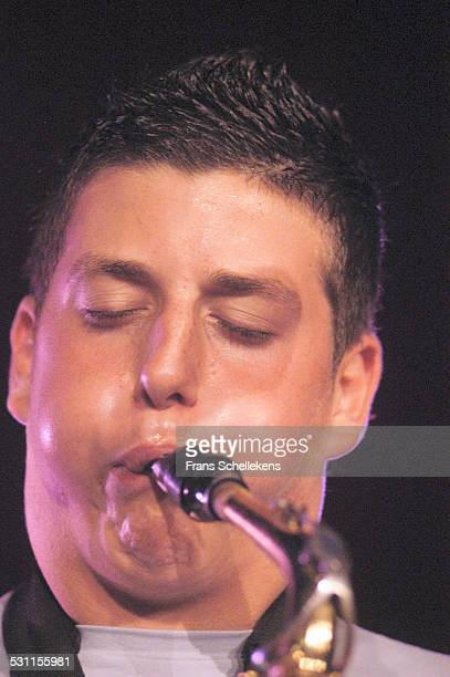 Francesco Cafiso, alto saxophone, performs at the North Sea Jazz Festival on July 9th 2004 in Amsterdam, the Netherlands.