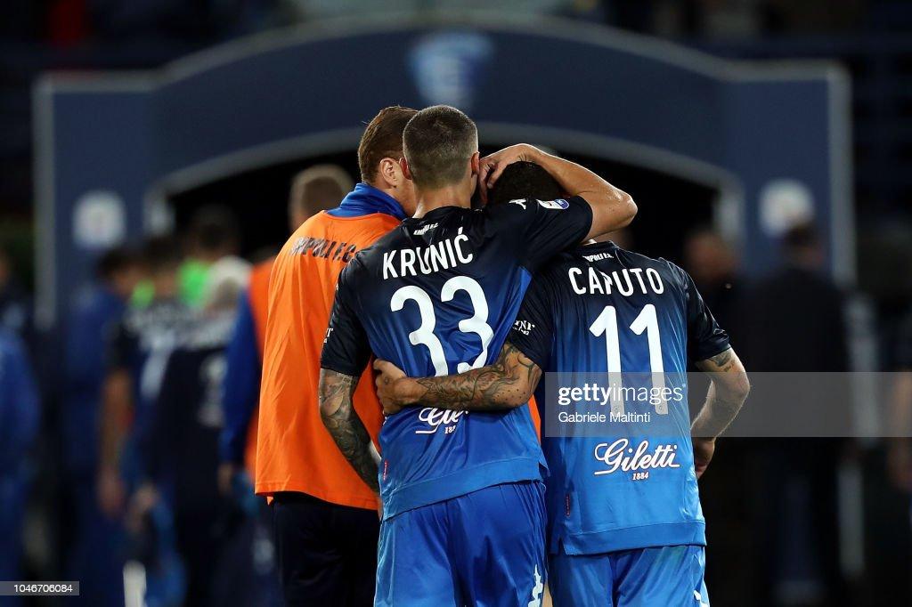 Empoli v AS Roma - Serie A : Fotografía de noticias
