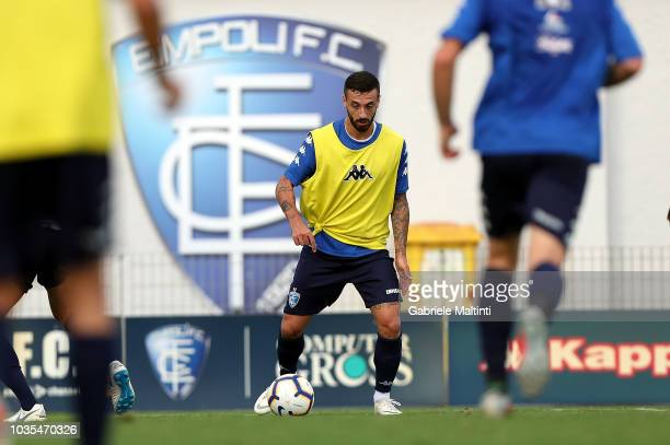 Rade Krunic of Empoli FC during training session on September 18 2018 in Empoli Italy