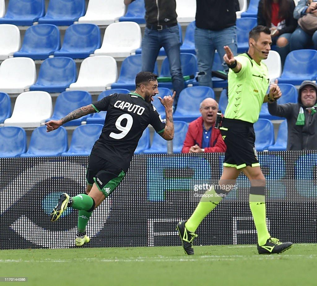 US Sassuolo v SPAL - Serie A : News Photo
