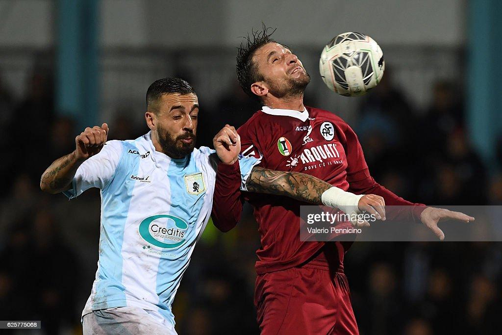 Virtus Entella v AC Spezia - Serie B : Foto di attualità