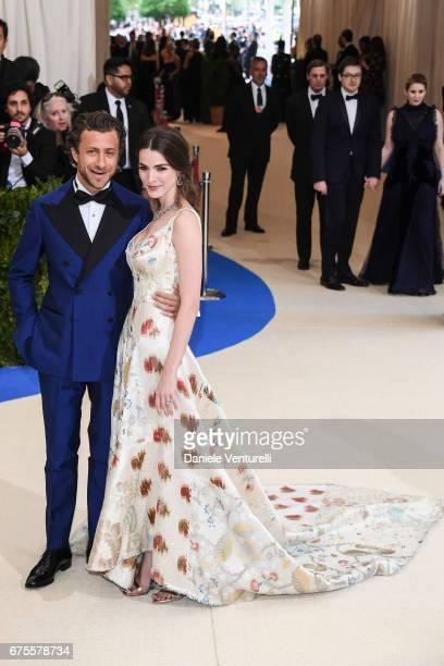 Francesco Carrozzini and Bee Shaffer attend 'Rei Kawakubo/Comme des Garcons Art Of The InBetween' Costume Institute Gala Arrivals at Metropolitan...