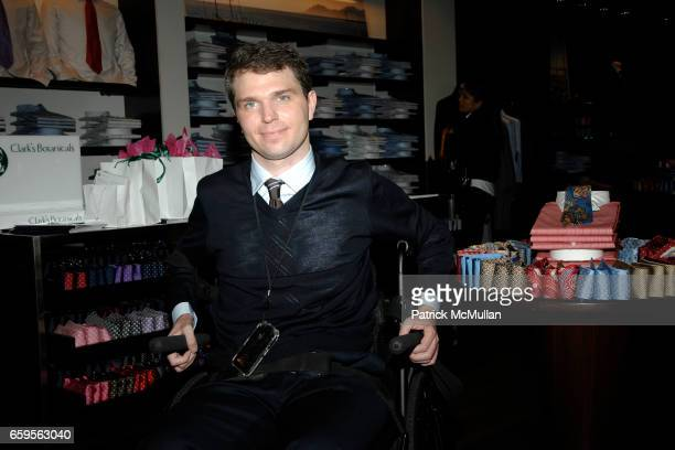 Francesco Clark attends FACONNABLE VANITY FAIR Shopping Night for the Christopher Reeve Dana Reeve Foundation at Faconnable Store on October 27 2009...