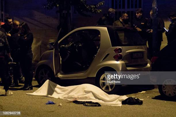 Image contains graphic content) Francesco Climeni, 55 y.o., he was tied up clan Licciardi, in the evening the body of a man in a car was found dead,...