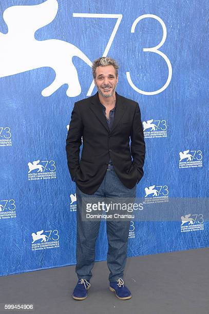 Francesco Colella attends a photocall for 'Piuma' during the 73rd Venice Film Festival at Palazzo del Casino on September 5, 2016 in Venice, Italy.