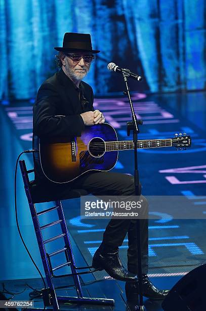 Francesco De Gregori performs at 'Che Tempo Che Fa' TV Show on November 30 2014 in Milan Italy
