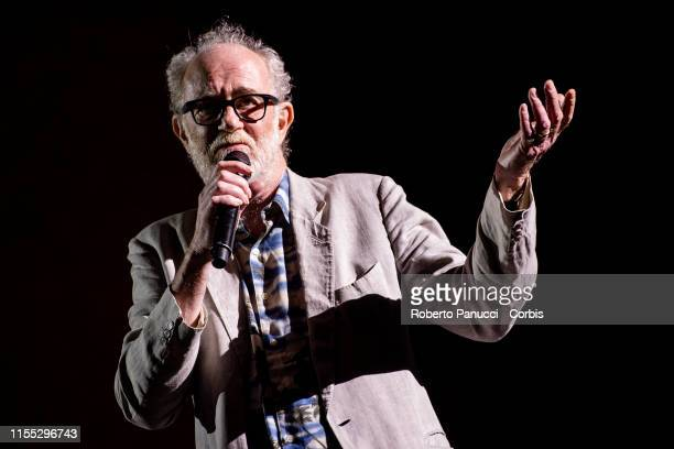 Francesco De Gregori performs at Terme di Caracalla on June 11 2019 in Rome Italy