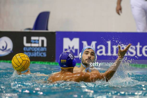 Francesco Di Fulvio of Pro Recco during the Champions League water polo match between Pro Recco and Barceloneta on march 15 2019 at Piscina...