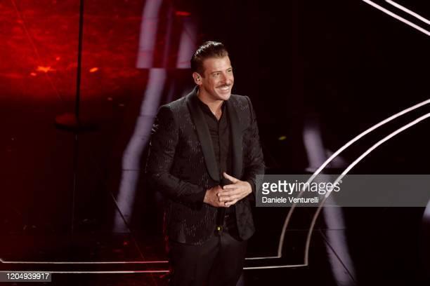 Francesco Gabbani attends the 70° Festival di Sanremo at Teatro Ariston on February 08 2020 in Sanremo Italy
