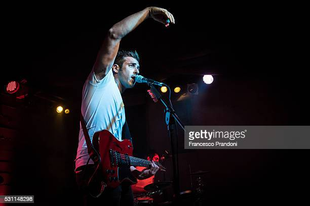 Francesco Gabbani performs on May 12 2016 in Milan Italy