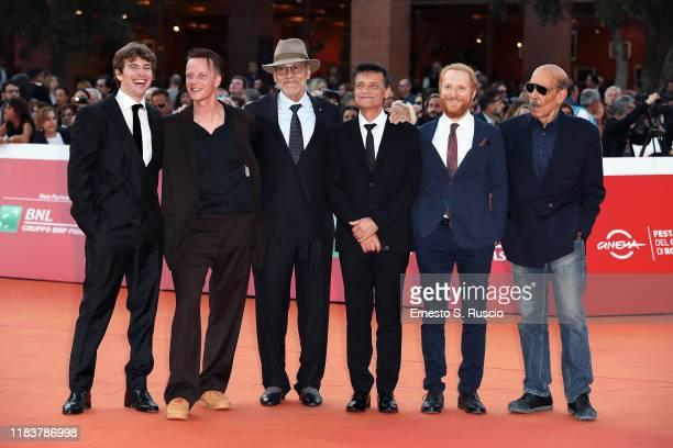 Francesco Gaudiello Jakob Diehl Andrey Konchalovskiy Alberto Testone Antonio Gargiulo and Orso Maria Guerrini attend the red carpet of the movie The...