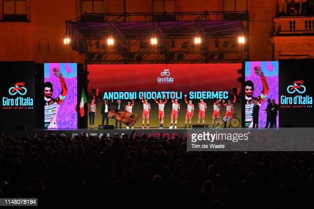 Francesco Gavazzi of Italy and Team Androni Giocattoli - Sidermec / Manuel Belletti of Italy and Team Androni Giocattoli - Sidermec / Mattia Cattaneo...