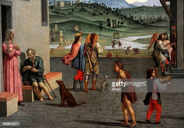 Francesco Granacci Italian painter Life of the Young Tobias Gemaldegalerie Berlin Germany