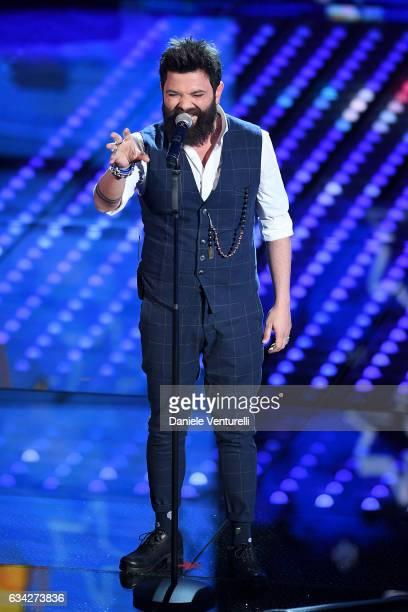 Francesco Guasti attends the second night of the 67th Sanremo Festival 2017 at Teatro Ariston on February 8 2017 in Sanremo Italy