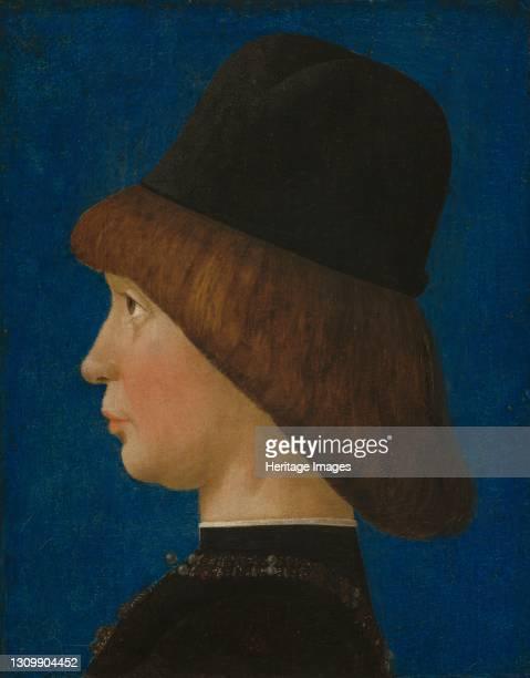 Francesco II Gonzaga, Fourth Marquis of Mantua, circa 1474/1480. Artist Baldassare d'Este. .