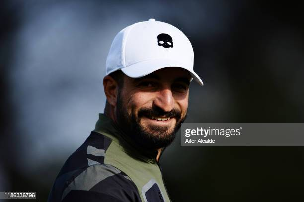 Francesco Laporta of Italy looks on during day 2 of the Challenge Tour Grand Final at Club de Golf Alcanada on November 08 2019 in Mallorca Spain