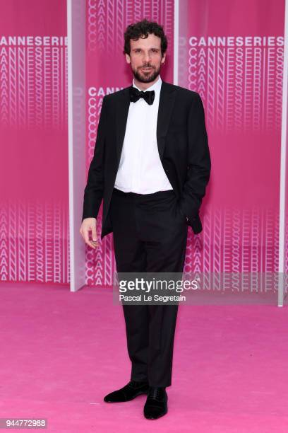 Francesco Montanari from the serie 'Il Cacciatore' attends the Closing Ceremony and 'Safe' screening during the 1st Cannes International Series...