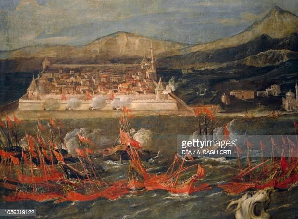 Francesco Morosini taking Cisme Turchia June 1659 oil on canvas Detail