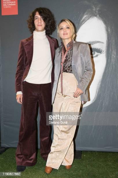 "Francesco Motta and Carolina Crescentini during the photocall the presentation of ""LETTO N.6"" di Milena Cocozza on Turin Film Festival 2019 on..."