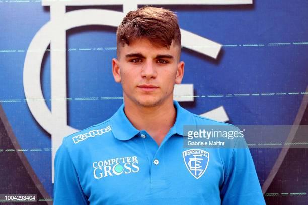 Francesco Noccioli of Empoli U19 on July 23 2018 in Empoli Italy