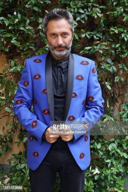Francesco Pignatelli, Creative Director of Carlo Pignatelli, poses during the Carlo Pignatelli presentation during the Milan Fashion Week - Spring /...