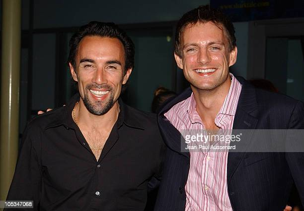Francesco Quinn and Nick Irons during 'VLAD' Los Angeles Premiere Arrivals at The ArcLight in Hollywood California United States