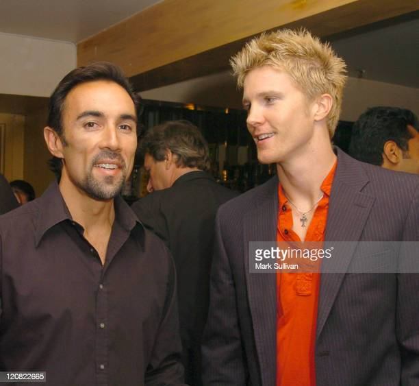 Francesco Quinn and Thad Luckinbill during Women On Top Magazine and The Beverly Hills Times Happy Hour Mixer at Trilussa Restaurant in Beverly Hills...