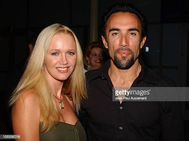 Francesco Quinn and wife Julie during 'VLAD' Los Angeles Premiere Arrivals at The ArcLight in Hollywood California United States