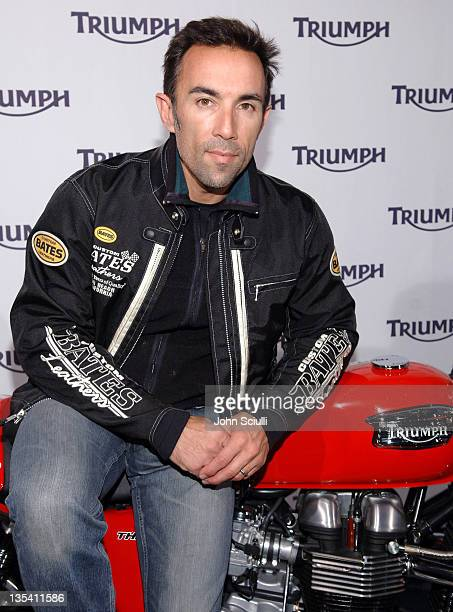 Francesco Quinn during 2007 Triumph Motorcycle Launch Party at Viceroy Hotel in Santa Monica California United States