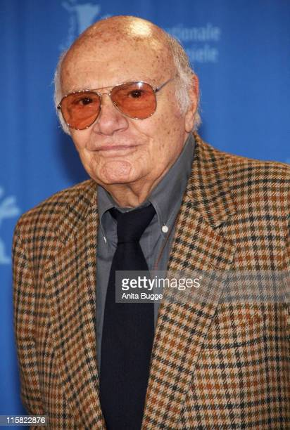 Francesco Rosi attends the Honorary Golden Bear Photocall as part of the 58th Berlinale Film Festival at the Grand Hyatt Hotel on February 14, 2008...