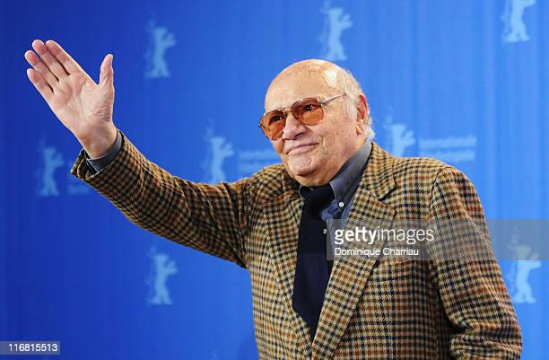 Francesco Rosi attends the Honorary Golden Bear Photocall as part of the 58th Berlinale Film Festival at the Grand Hyatt Hotel on February 14 2008 in...