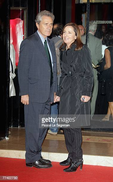 Francesco Rutelli and Barbara Palombelli attend the opening ceremony concert held at Teatro Sistina on day 1 of the 2nd Rome Film Festival on October...