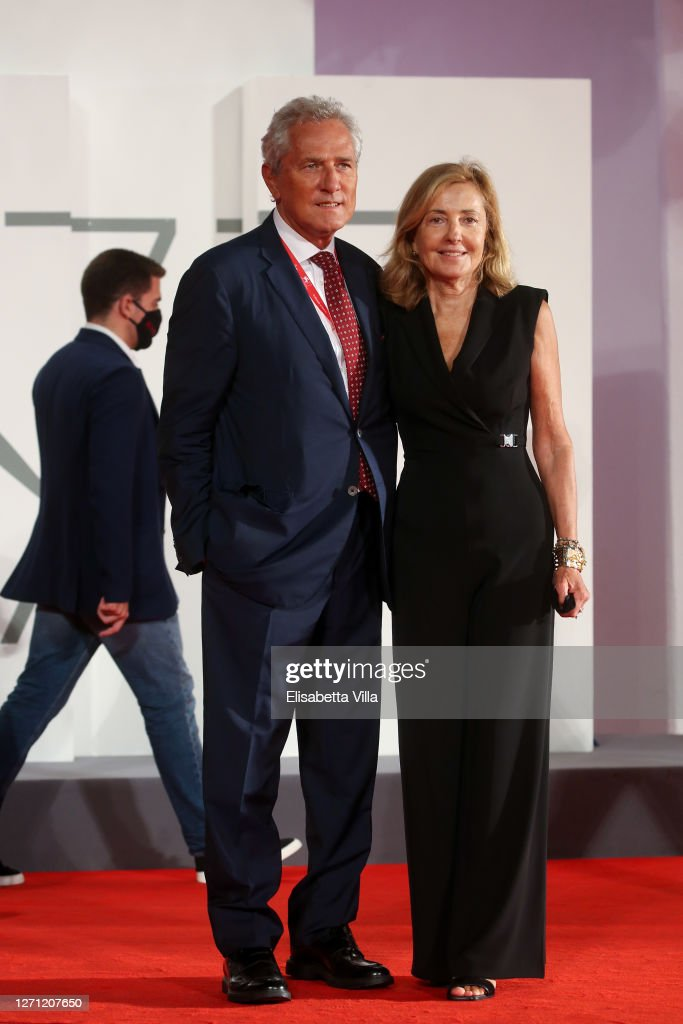 Francesco Rutelli And Barbara Palombelli Walk The Red Carpet Ahead Of News Photo Getty Images