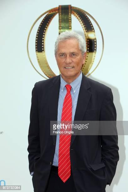 Francesco Rutelli attends Globi D'Oro awards ceremony at the Academie de France Villa Medici on June 13 2018 in Rome Italy