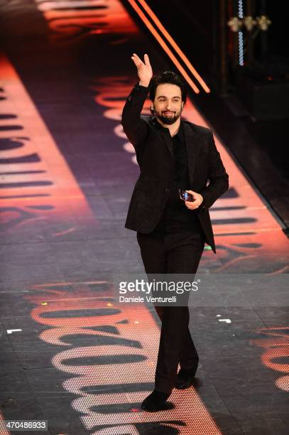 Francesco Sarcina attends second night of the 64th Festival di Sanremo 2014 at Teatro Ariston on February 19, 2014 in Sanremo, Italy.