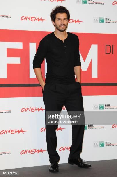 Francesco Scianna attends the 'Come Il Vento' Photocall during the 8th Rome Film Festival at the Auditorium Parco Della Musica on November 9 2013 in...
