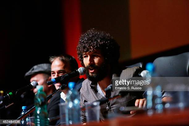 Francesco Scianna attends the 'I Milionari' Press Conference during the 9th Rome Film Festival on October 19 2014 in Rome Italy
