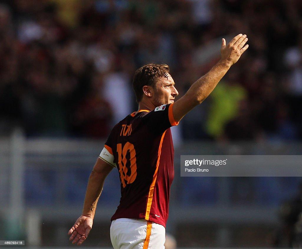 AS Roma v US Sassuolo Calcio - Serie A : Fotografía de noticias