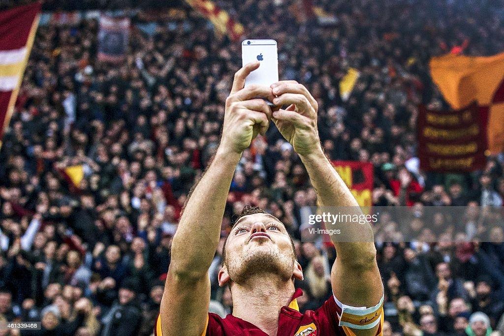Serie A - 'AS Roma v Lazio Roma' : News Photo