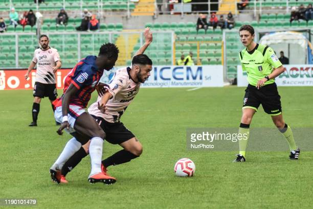 Francesco Vaccaro during the serie D match between SSD Palermo and ASD Troina at Stadio Renzo Barbera on December 22, 2019 in Palermo, Italy.