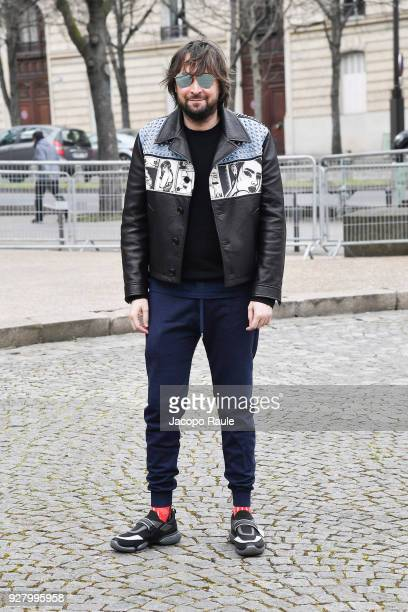 Francesco Vezzoli attends the Miu Miu show as part of the Paris Fashion Week Womenswear Fall/Winter 2018/2019 on March 6 2018 in Paris France