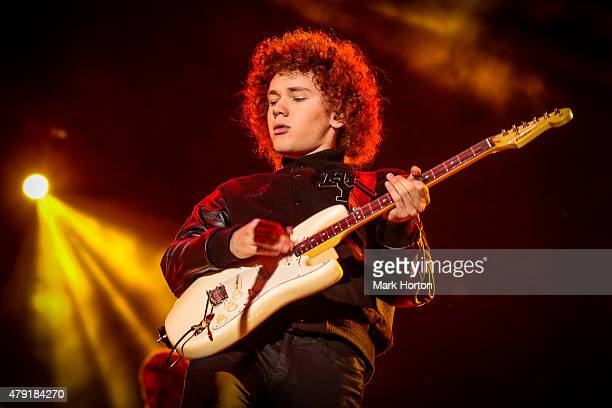 Francesco Yates performs during Canada Day celebrations on Parliament Hill on July 1 2015 in Ottawa Canada