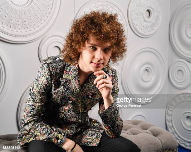 Francesco Yates poses in the ETalk Portrait Studio at the 2017 Canadian Screen Awards at the Sony Centre For Performing Arts on March 12 2017 in...